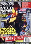 Scan de la couverture du magazine Computer and Video Games  188