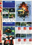 Scan of the preview of Lylat Wars published in the magazine Computer and Video Games 188