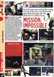 Scan of the preview of Mission: Impossible published in the magazine Computer and Video Games 189