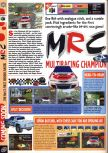 Scan of the preview of Multi Racing Championship published in the magazine Computer and Video Games 189, page 1