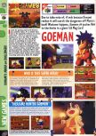 Scan of the preview of Mystical Ninja Starring Goemon published in the magazine Computer and Video Games 189