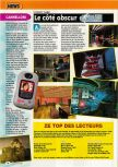 Scan of the preview of Perfect Dark published in the magazine Consoles + 098