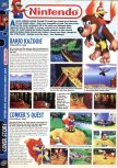 Scan of the preview of Banjo-Kazooie published in the magazine Computer and Video Games 190