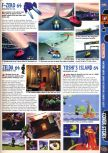 Scan of the preview of F-Zero X published in the magazine Computer and Video Games 190, page 1