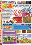 Scan of the preview of Mischief Makers published in the magazine Computer and Video Games 190
