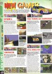 Scan of the preview of Extreme-G published in the magazine Computer and Video Games 190