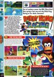 Scan of the review of Diddy Kong Racing published in the magazine Computer and Video Games 193, page 1