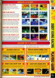 Scan of the walkthrough of Diddy Kong Racing published in the magazine Computer and Video Games 194