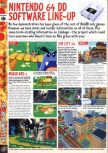 Scan of the preview of Paper Mario published in the magazine Computer and Video Games 195