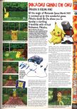 Scan of the preview of Hey You, Pikachu! published in the magazine Computer and Video Games 195