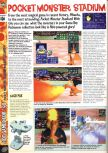 Scan of the preview of Pokemon Stadium published in the magazine Computer and Video Games 195