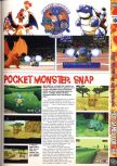 Scan of the preview of Pokemon Snap published in the magazine Computer and Video Games 195