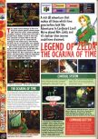 Scan of the preview of The Legend Of Zelda: Ocarina Of Time published in the magazine Computer and Video Games 195