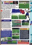 Scan of the review of FIFA 98: Road to the World Cup published in the magazine Computer and Video Games 195, page 1