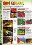 Scan of the preview of Banjo-Kazooie published in the magazine Computer and Video Games 197