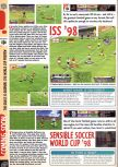 Scan of the preview of International Superstar Soccer 98 published in the magazine Computer and Video Games 198