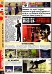 Scan of the preview of Mission: Impossible published in the magazine Computer and Video Games 199
