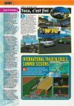 Scan of the preview of International Track & Field 2000 published in the magazine Consoles + 099