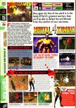 Scan of the preview of Mortal Kombat 4 published in the magazine Computer and Video Games 200