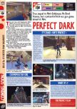 Scan of the preview of Perfect Dark published in the magazine Computer and Video Games 201