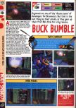 Scan of the preview of Buck Bumble published in the magazine Computer and Video Games 201