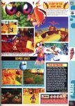 Scan of the review of Banjo-Kazooie published in the magazine Computer and Video Games 201