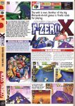 Scan of the preview of F-Zero X published in the magazine Computer and Video Games 202, page 1