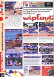 Scan of the preview of WipeOut 64 published in the magazine Computer and Video Games 202