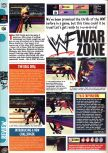 Scan of the review of WWF War Zone published in the magazine Computer and Video Games 202