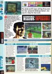 Scan of the review of Mission: Impossible published in the magazine Computer and Video Games 202