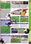 Scan of the preview of International Superstar Soccer 98 published in the magazine Computer and Video Games 202