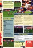 Scan of the preview of FIFA 99 published in the magazine Computer and Video Games 203