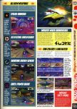 Scan of the preview of WipeOut 64 published in the magazine Computer and Video Games 203