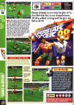 Scan of the review of International Superstar Soccer 98 published in the magazine Computer and Video Games 203