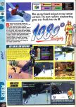 Scan of the review of 1080 Snowboarding published in the magazine Computer and Video Games 204, page 1