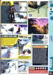 Scan of the review of 1080 Snowboarding published in the magazine Computer and Video Games 204, page 2