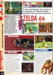 Scan of the preview of The Legend Of Zelda: Ocarina Of Time published in the magazine Computer and Video Games 205