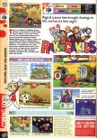 Scan of the preview of Rakuga Kids published in the magazine Computer and Video Games 205