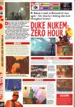 Scan of the preview of Duke Nukem Zero Hour published in the magazine Computer and Video Games 208