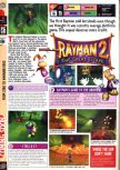 Scan of the preview of Rayman 2: The Great Escape published in the magazine Computer and Video Games 208