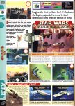 Scan of the review of Star Wars: Rogue Squadron published in the magazine Computer and Video Games 208