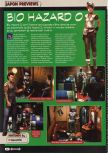 Scan of the preview of Resident Evil 0 published in the magazine Consoles + 100