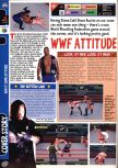 Scan of the preview of WWF Attitude published in the magazine Computer and Video Games 210, page 1