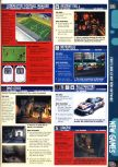 Scan of the preview of Rally Masters published in the magazine Computer and Video Games 210, page 1