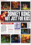 Scan of the preview of Donkey Kong 64 published in the magazine Computer and Video Games 213
