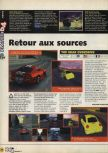 Scan of the preview of Top Gear OverDrive published in the magazine X64 09