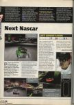 Scan of the preview of Jeff Gordon XS Racing published in the magazine X64 09