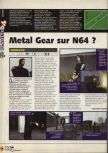 Scan of the preview of Operation WinBack published in the magazine X64 09