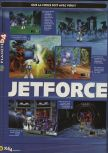 Scan of the preview of Jet Force Gemini published in the magazine X64 09
