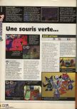 Scan of the preview of Rat Attack published in the magazine X64 09